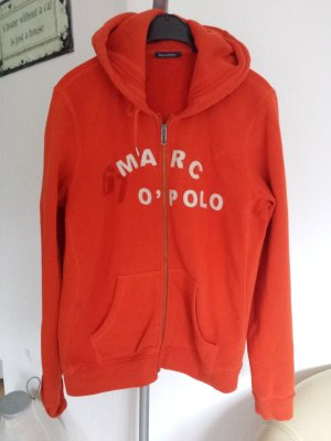 Marc O'Polo Veste sweat orange coton