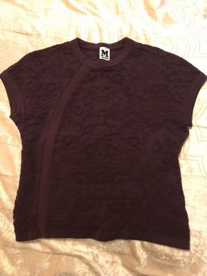 Missoni Knitted Top brown violet