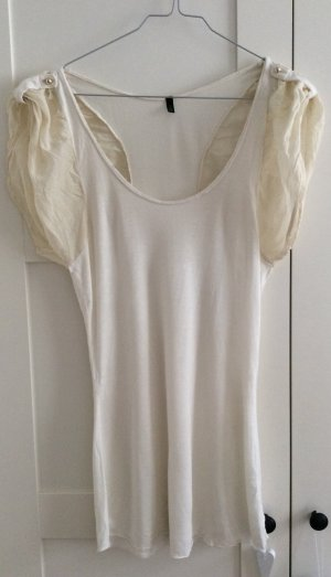 Benetton Long Top natural white-cream