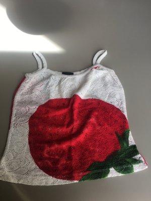 Top mit Erdbeere Gr 34