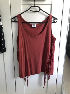 Zara Tank Top bordeaux-carmine