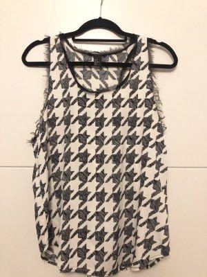 H&M Top noir-blanc