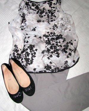 H&M Mouwloze blouse veelkleurig Acryl