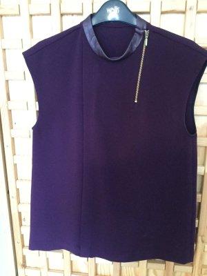 Zara Top purple polyester
