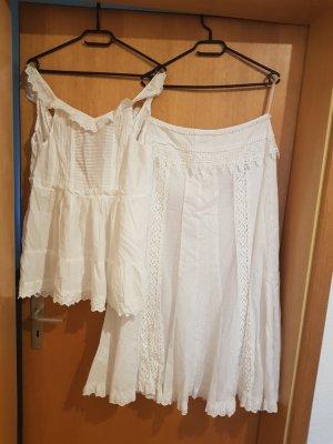 Together Maxi Skirt white
