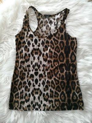 Top mit leopard Print
