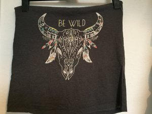 """Top mit Muster """"Be Wild"""""""