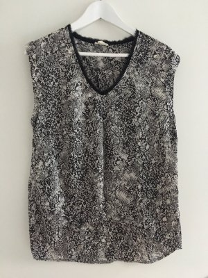 Esprit A Line Top black-white