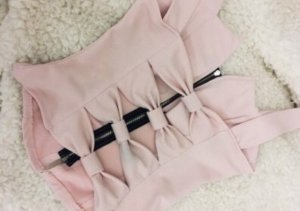 Cut Out Top light pink-pink
