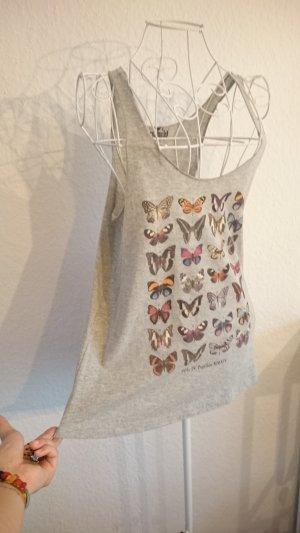 Top mit Schmetterlingen