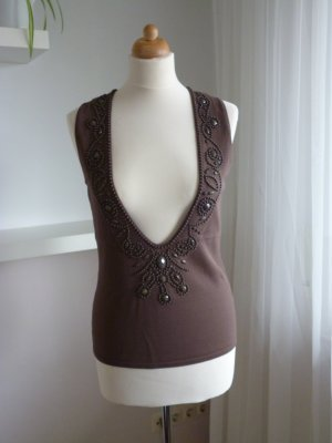 Betty Barclay Knitted Top bronze-colored viscose