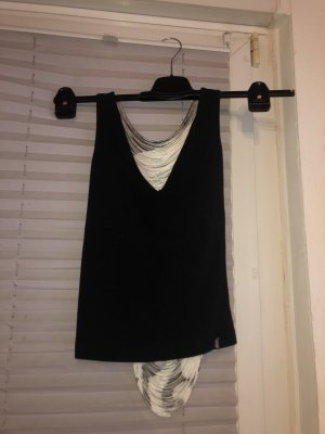 Miss Sixty Backless Top black-white