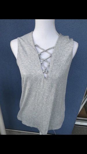 Only Crop-top gris