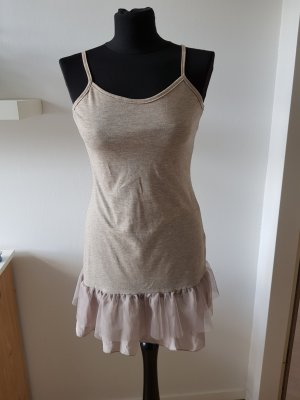 Lace Top taupe-grey brown