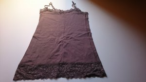 Lace Top grey brown