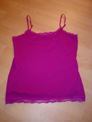 Lace Top raspberry-red-pink