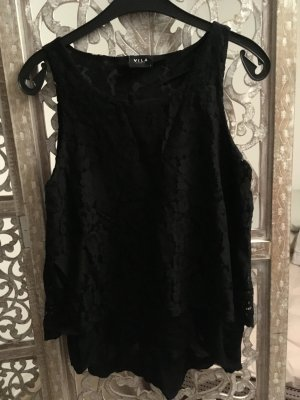 Vila Lace Top black