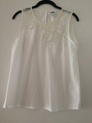 Vero Moda Top di merletto bianco-bianco sporco