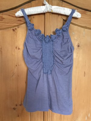 Anthropologie Top azure-cornflower blue