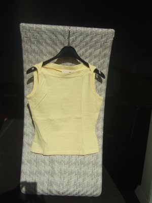 Haut basique jaune primevère coton