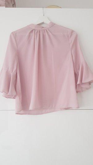 SheIn Volanten top lichtroze-roze