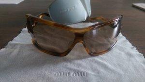 Top MiuMiu Oversized Sonnenbrille mit Ersatzgläsern
