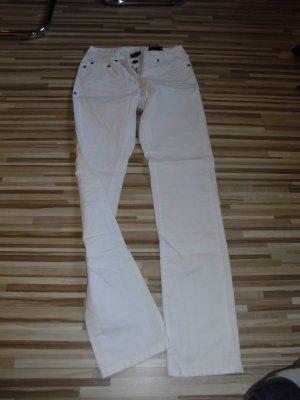 Top-moderne Jeans weiß