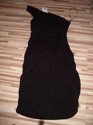 Top-modernes Kleid, schwarz NEU