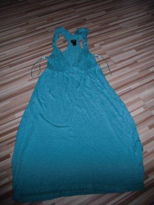 Top-modernes Sommer-Kleid türkis