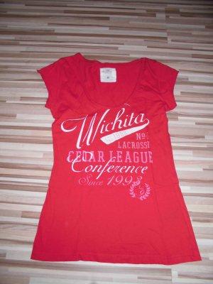 Top-modernes T-shirt rot