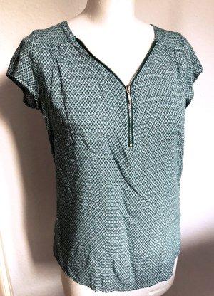 Top Muster Blau/Grün