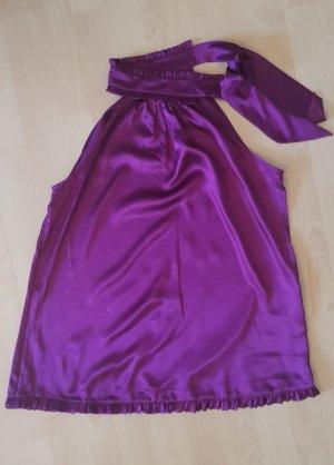 Mango Suit Haltertop violet-blauw-paars