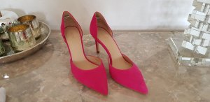 ***TOP***NEU***Velourslederpumps in Pink, Gr.39