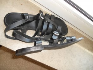 Top neue Sandalen Echt Leder Gr. 42