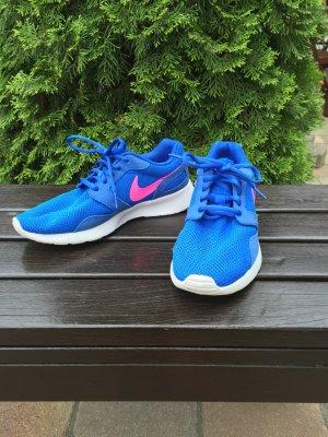 TOP Nike Kaishi Sneaker blau pink weiß