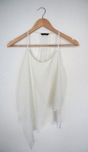 Top, off-white, Massimo Dutti