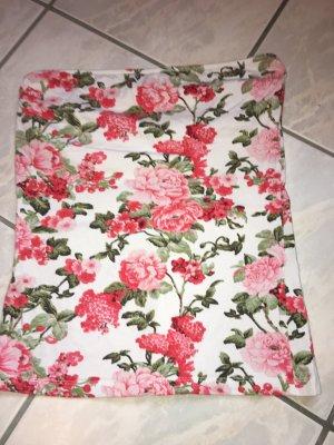 Top Only bunt mit Blumen in Größe L