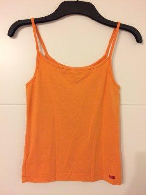 Esprit Basic topje oranje Viscose