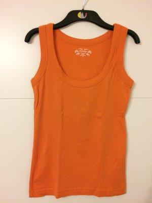 Orsay Basic topje oranje Katoen