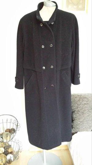Abrigo de lana azul oscuro Lana