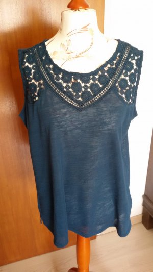 Yessica Lace Top petrol