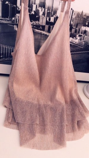 Pimkie Flounce Top rose-gold-coloured
