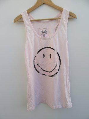 Top rosa Smiley Sommer Gr. M