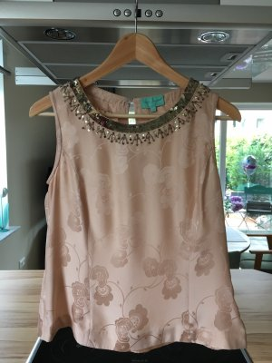 Noa Noa Silk Top pink
