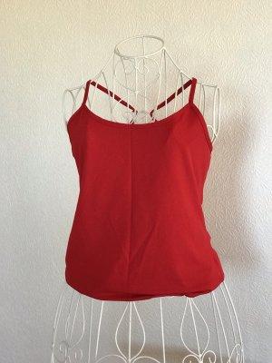Yessica Haut basique rouge
