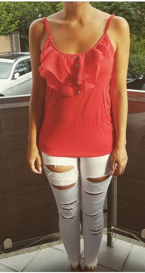 Top rot Shirt S boho blogger Volants
