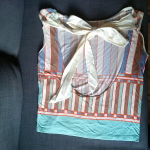 Diesel Blusa sin espalda multicolor Algodón