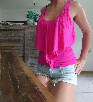 Blusa sin espalda multicolor tejido mezclado