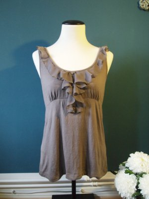 Villa Frill Top grey viscose