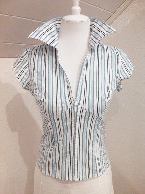 Top!Schöne Kurzarm-Bluse,Shirt von Amisu,36/38